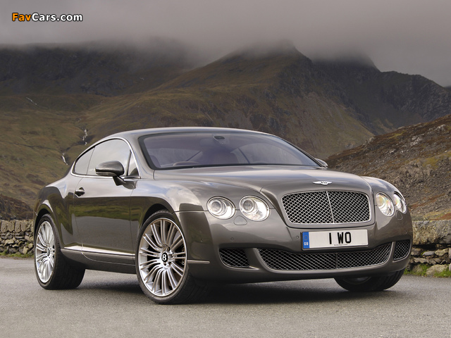 Images of Bentley Continental GT Speed 2007–11 (640 x 480)