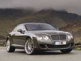 Images of Bentley Continental GT Speed 2007–11
