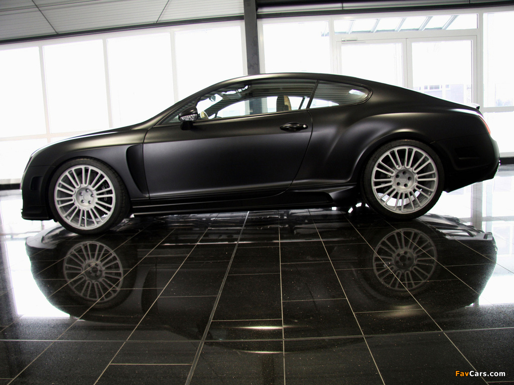 Images of Mansory Bentley Continental GT Speed 2009–10 (1024 x 768)