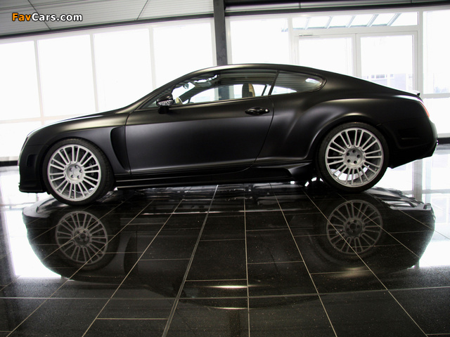 Images of Mansory Bentley Continental GT Speed 2009–10 (640 x 480)