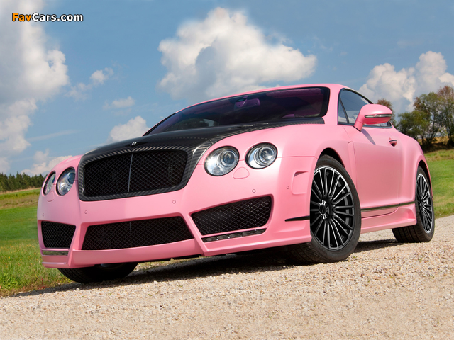 Images of Mansory Bentley Continental GT Vitesse Rose 2009 (640 x 480)