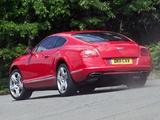 Images of Bentley Continental GT UK-spec 2011
