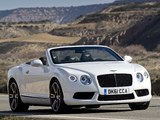 Images of Bentley Continental GTC V8 2012