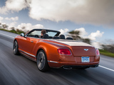 Images of Bentley Continental GT Speed Convertible 2013–14