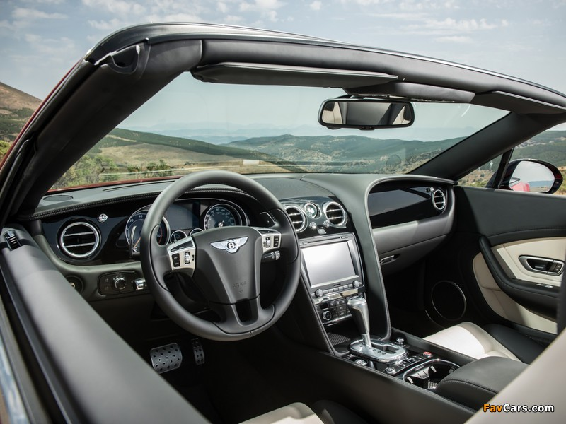 Images of Bentley Continental GT V8 S Convertible 2013 (800 x 600)