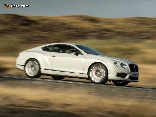 Images of Bentley Continental GT V8 S Coupe 2013 (640 x 480)
