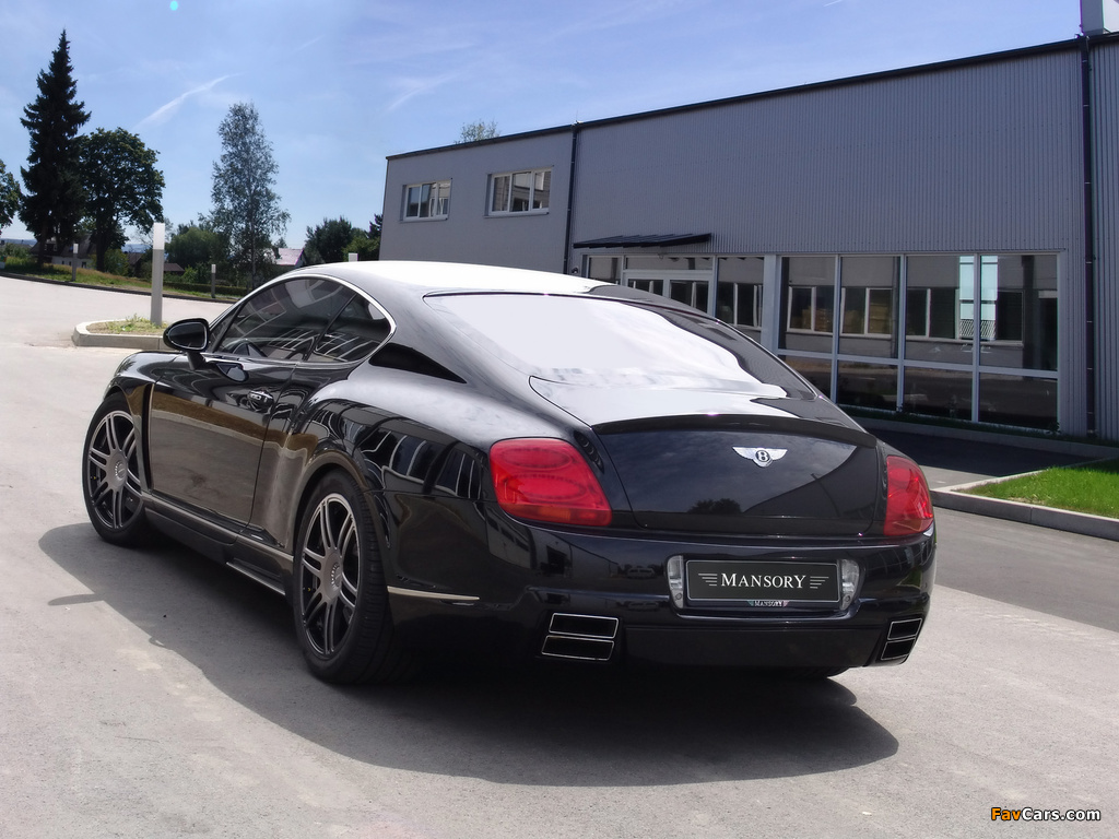 Photos of Mansory Bentley Continental GT (1024 x 768)