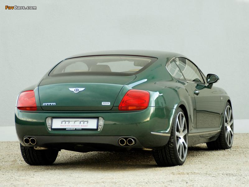 Photos of MTM Bentley Continental GT Birkin Edition 2006 (800 x 600)