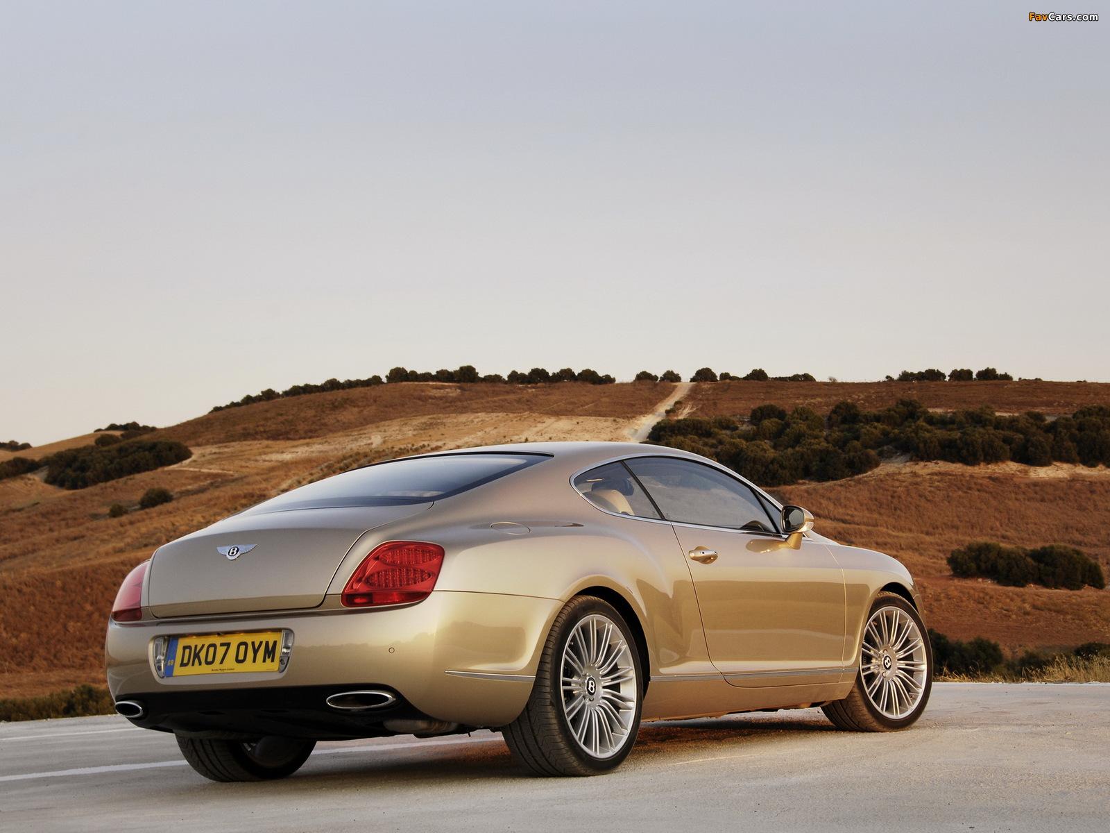 Photos of Bentley Continental GT Speed 2007–11 (1600 x 1200)