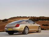Photos of Bentley Continental GT Speed 2007–11