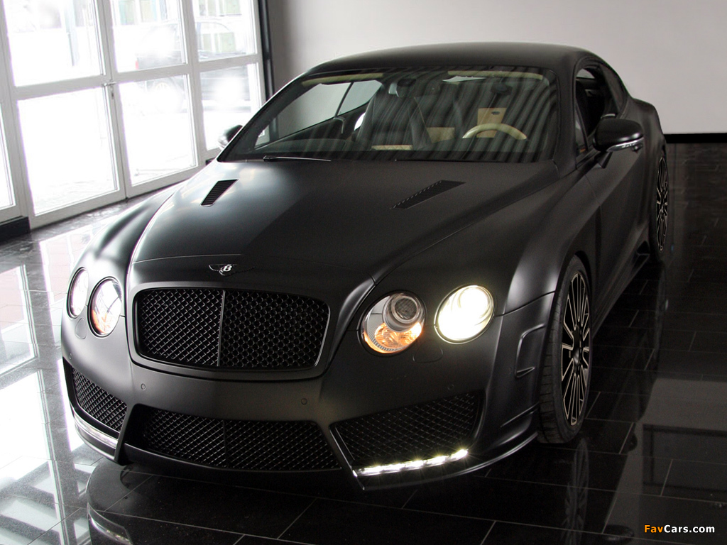 Photos of Mansory Bentley Continental GT Speed 2009–10 (1024 x 768)