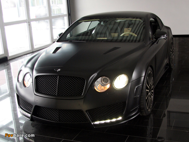 Photos of Mansory Bentley Continental GT Speed 2009–10 (640 x 480)