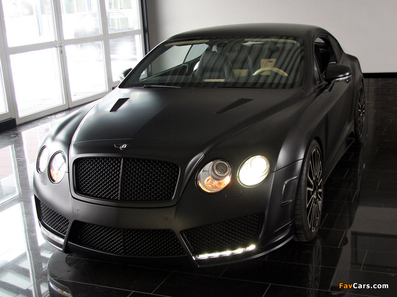 Photos of Mansory Bentley Continental GT Speed 2009–10 (800 x 600)