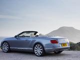 Photos of Bentley Continental GT Convertible 2011–15