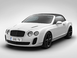 Photos of Bentley Continental Supersports ISR Convertible 2011