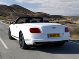 Photos of Bentley Continental GTC V8 2012
