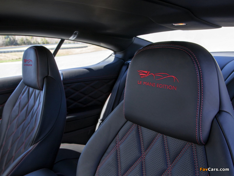 Photos of Bentley Continental GT Speed Le Mans Edition 2013 (800 x 600)
