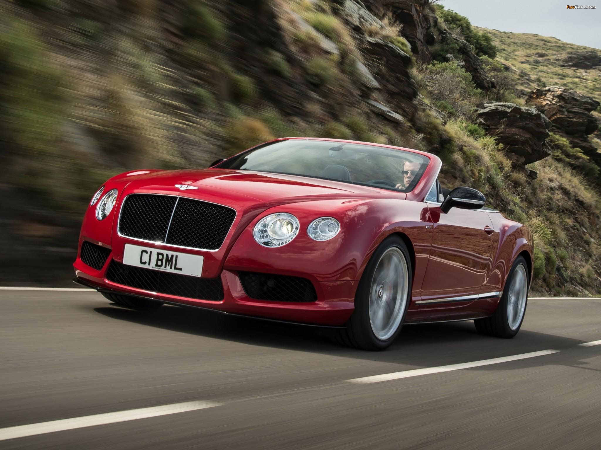 Photos of Bentley Continental GT V8 S Convertible 2013 (2048 x 1536)