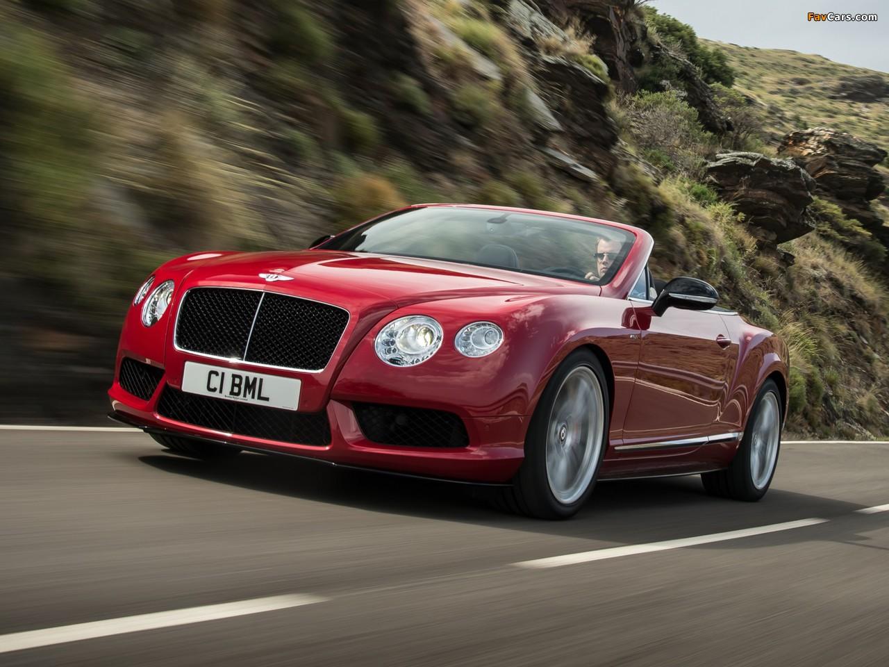 Photos of Bentley Continental GT V8 S Convertible 2013 (1280 x 960)