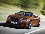 Photos of Bentley Continental GT Speed Convertible 2014