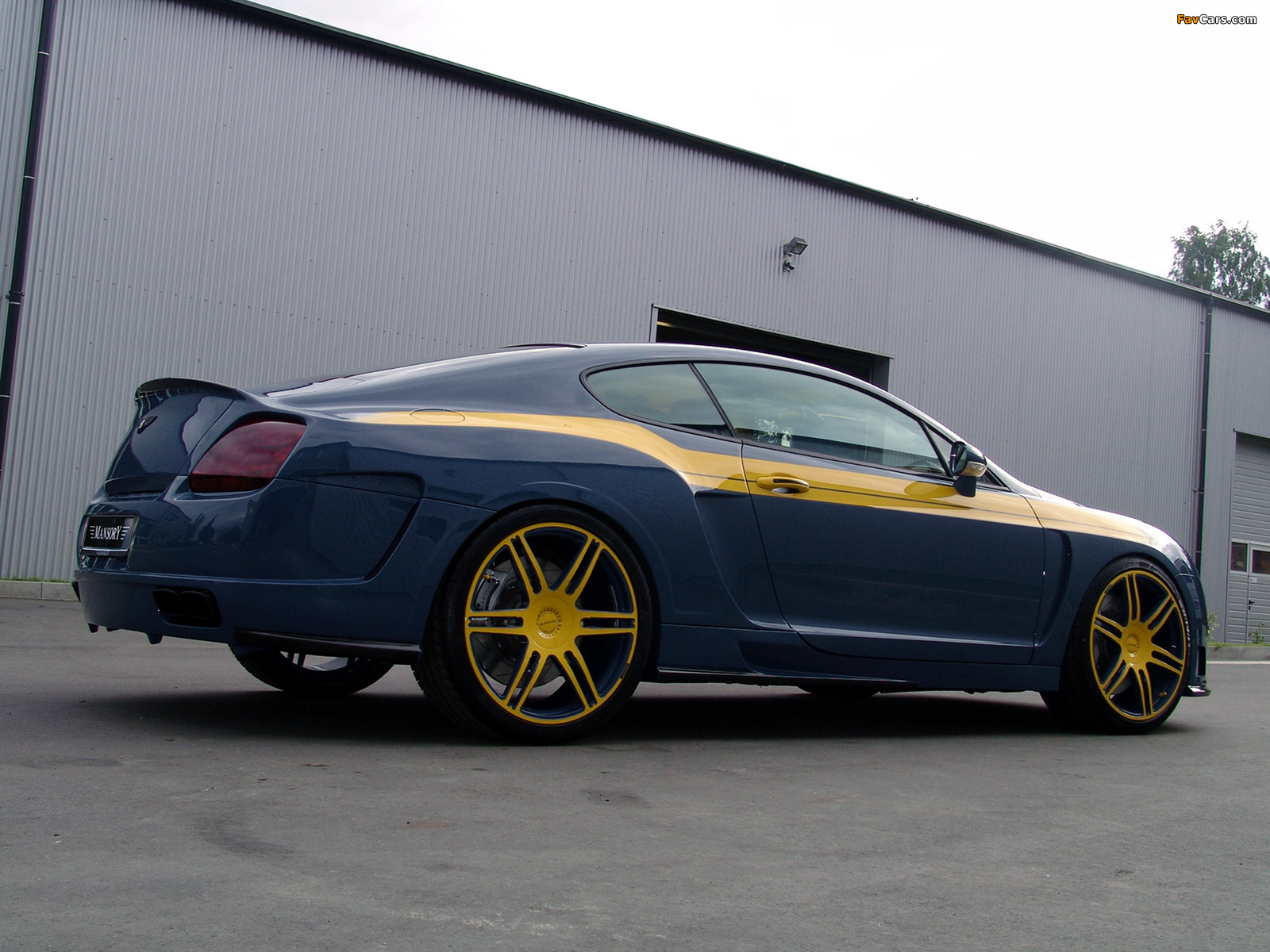 Photos of Mansory Bentley Continental GT (1600 x 1200)
