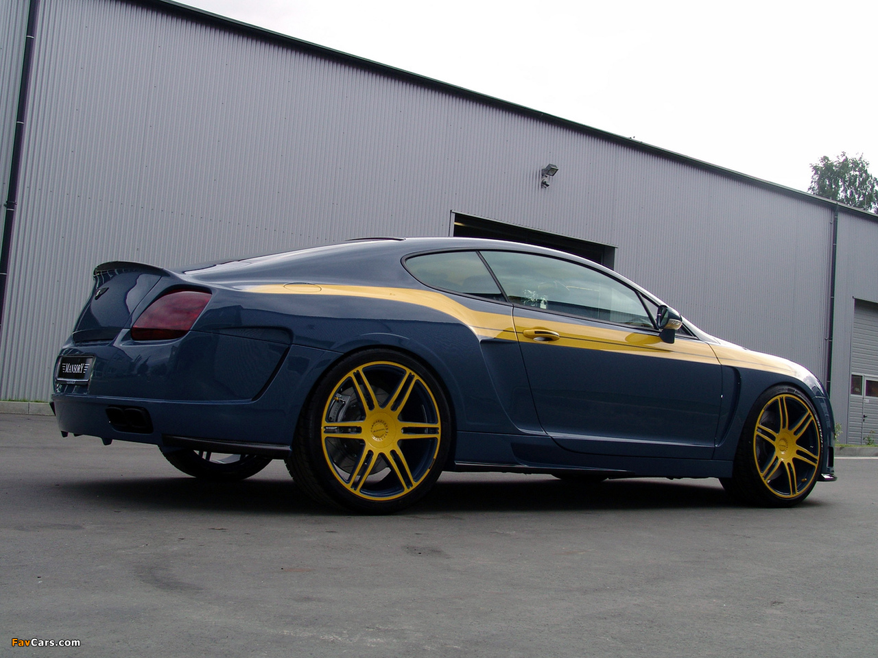 Photos of Mansory Bentley Continental GT (1280 x 960)