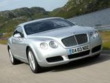 Photos of Bentley Continental GT 2003–07
