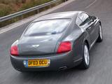 Pictures of Bentley Continental GT 2003–07