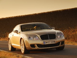 Pictures of Bentley Continental GT Speed 2007–11
