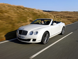 Pictures of Bentley Continental GTC Speed 2009–11