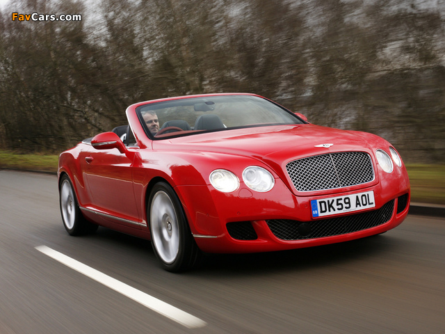 Pictures of Bentley Continental GTC 2009–11 (640 x 480)