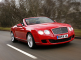 Pictures of Bentley Continental GTC 2009–11