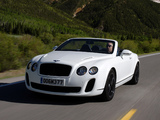 Pictures of Bentley Continental Supersports Convertible 2010–11