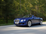 Pictures of Bentley Continental GT Convertible 2011–15