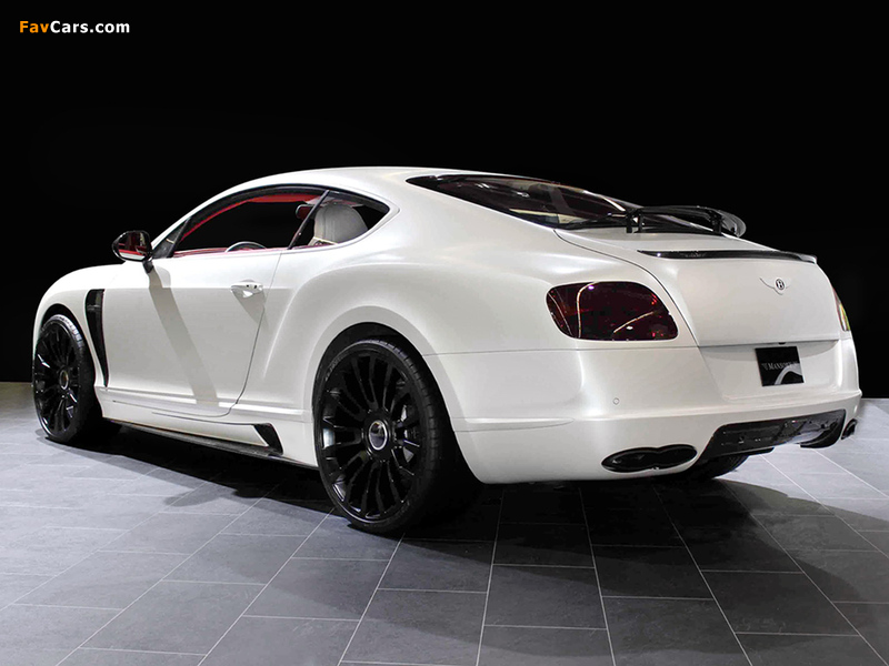 Pictures of Mansory Bentley Continental GT 2011 (800 x 600)