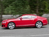 Pictures of Bentley Continental GT UK-spec 2011