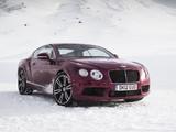 Pictures of Bentley Continental GT V8 UK-spec 2012