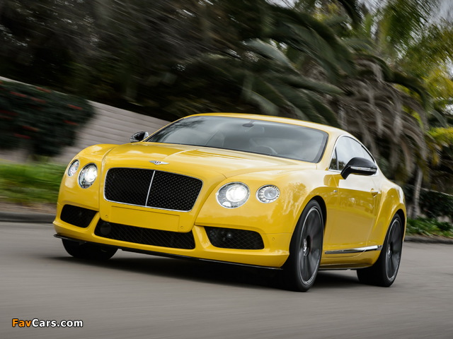 Pictures of Bentley Continental GT V8 S Coupe 2013 (640 x 480)