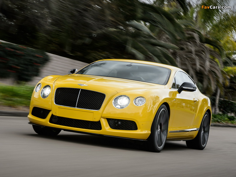 Pictures of Bentley Continental GT V8 S Coupe 2013 (800 x 600)