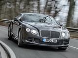 Pictures of Bentley Continental GT Speed 2014