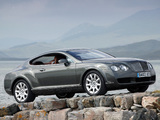 Pictures of Bentley Continental GT UK-spec 2003–07