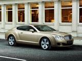Bentley Continental GT 2007–11 wallpapers