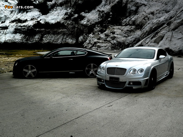WALD Bentley Continental GT Sports Line 2008–10 wallpapers (640 x 480)