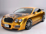 Wallpapers of ASI Bentley W66 GTS Gold 2008–10