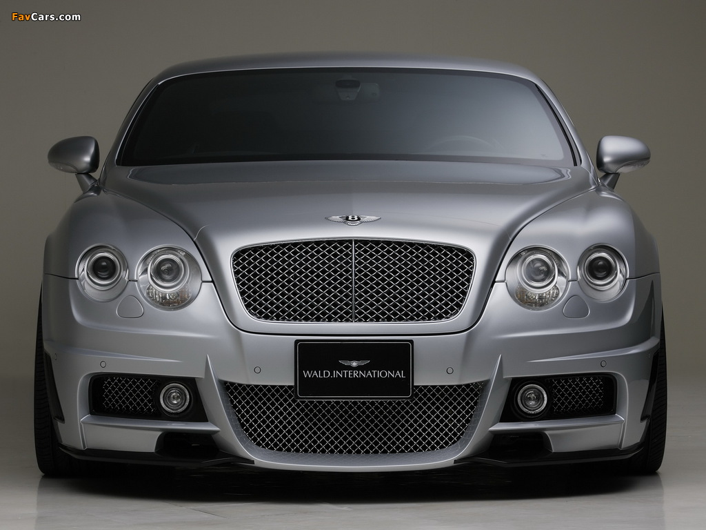 WALD Bentley Continental GT Sports Line 2008–10 wallpapers (1024 x 768)