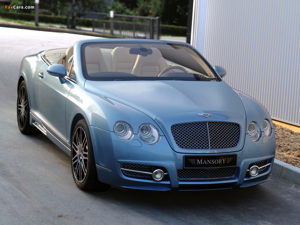 Mansory Bentley Continental GTC 2008–10 wallpapers (1024 x 768)