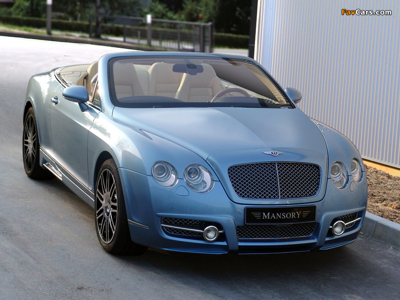 Mansory Bentley Continental GTC 2008–10 wallpapers (800 x 600)