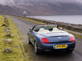 Bentley Continental GTC Speed 2009–11 wallpapers
