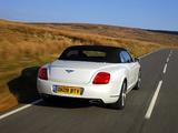 Bentley Continental GTC Speed 2009–11 wallpapers