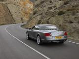 Bentley Continental GT Convertible 2011–15 wallpapers